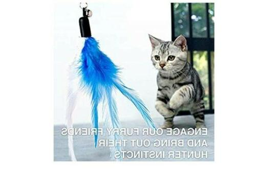 Interactive Toys Laser Cats Wand Toy with Chaser and Cats