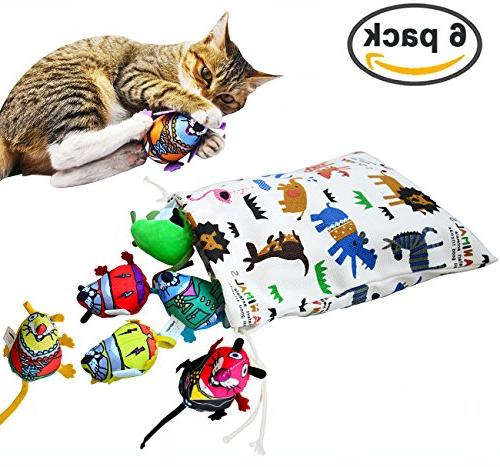 interactive cat toys mice