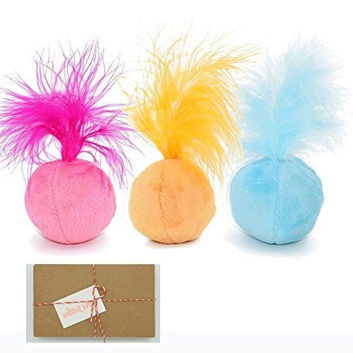 interactive catnip cat toys ball