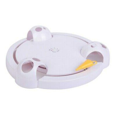 Pet Rotating Mouse Hide And Seek Automatic Toy