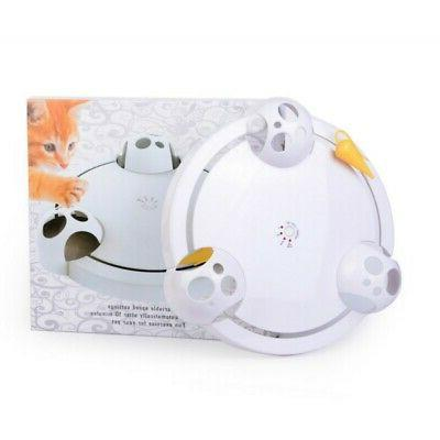 Pet Interactive Toy Rotating Hide And Seek Automatic Mice Toy