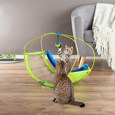 interactive rocking activity mat cat toy medium