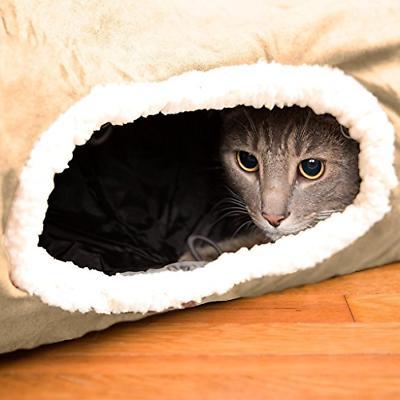 Interactive SOFT Cat Kitten Tunnel Toy Maze Fun Hideaway Ext