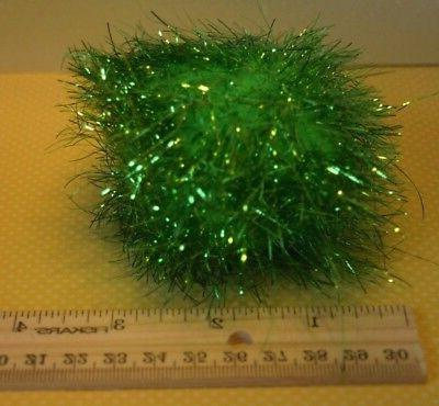 "JUMBO BALLS 3"" - Lots 1/4 Sparkly Tinsel Large Balls Cat Toys"