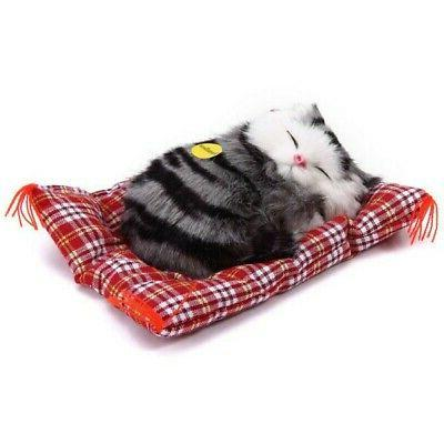 Kids Cute Realistic Cat Simulation Toys Plush