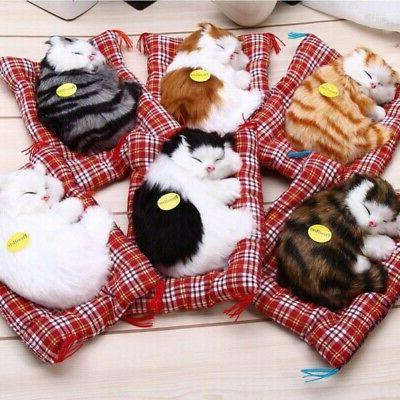 Kids Cute Realistic Cat Toys