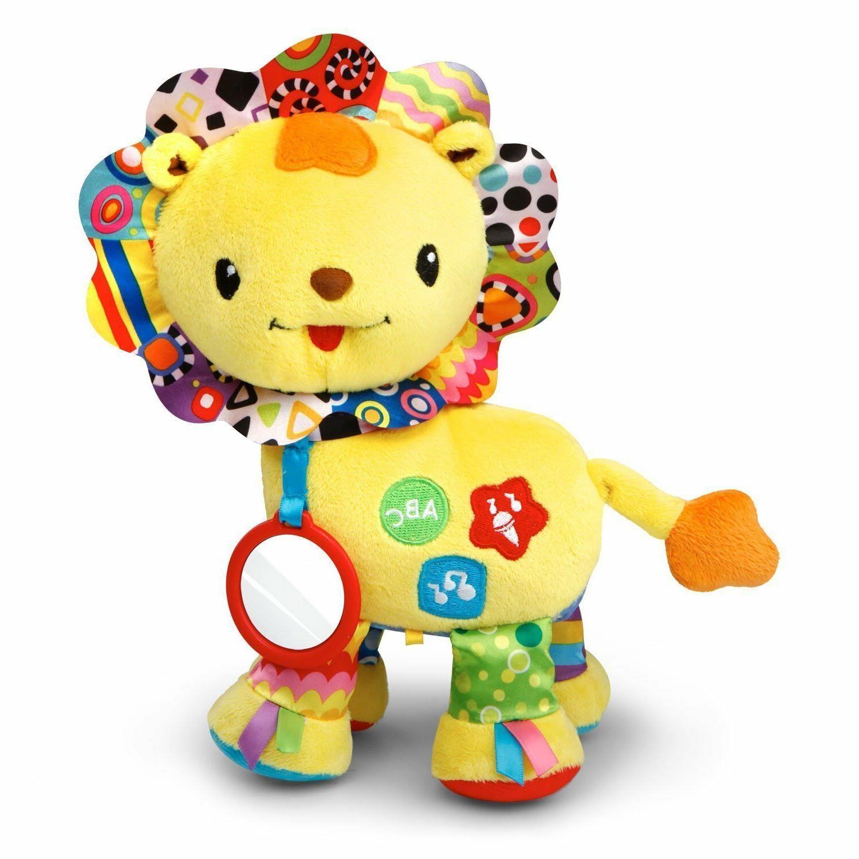 kids educational toy baby crinkle roar lion