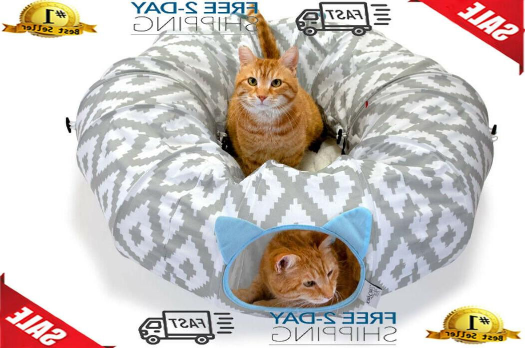 large cat tunnel bed cat bed pop