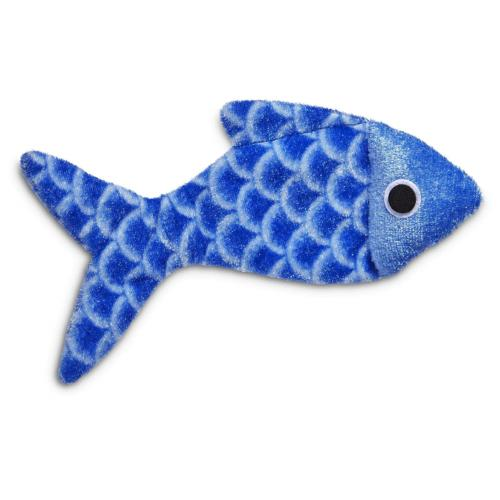 Leaps Bounds Crinkle Fish Cat Size Fits All,