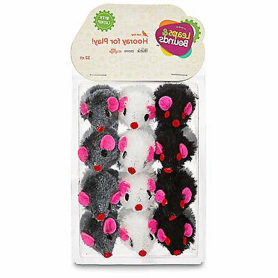 leaps and bounds fuzzy mice cat toys
