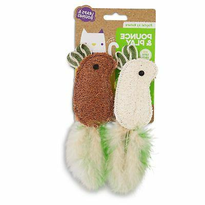 Leaps & Bounds by Nature Mice Cat Toys,