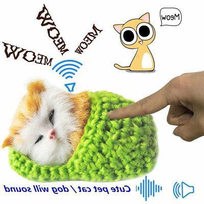Lifelike Gifts Toy Plush Cat