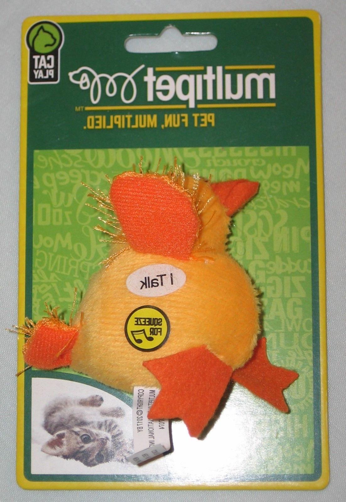MULTIPET INTERNATIONAL MultiPet Look Who's Talking Cat Toy -