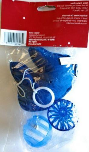 LOT OF CAT TOYS MAN, TEASER BLUE 2 PACKS OF 3