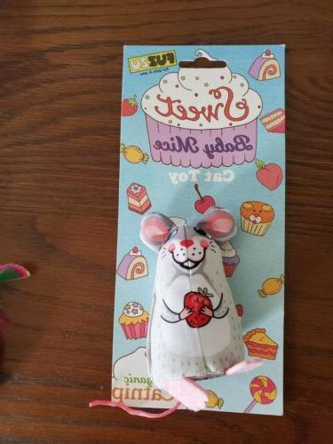 Lot Cat Toys - Dust Bunnies Scent Locker Ball Sweet Baby