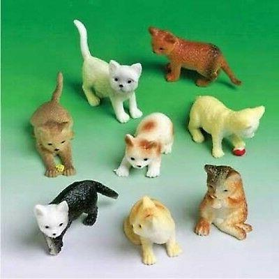 mini cat figures asst 12 count