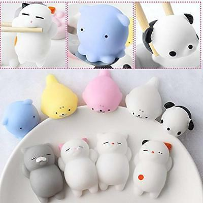 Outee Mochi Squishy Cat Toys, 9 Stress Squishies