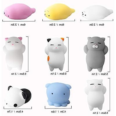 Outee Squishy Cat Toys, Animal Stress