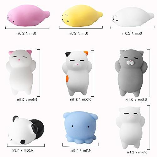 Outee Toys, 9 Animal Mochi Cat Stress