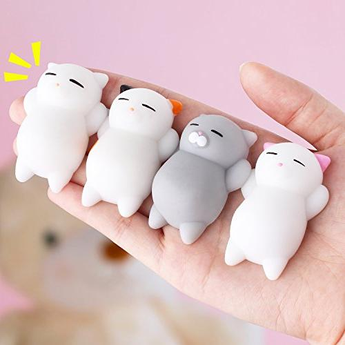 Outee Mochi Animal Stress Relief Toys Mochi Cat Mini