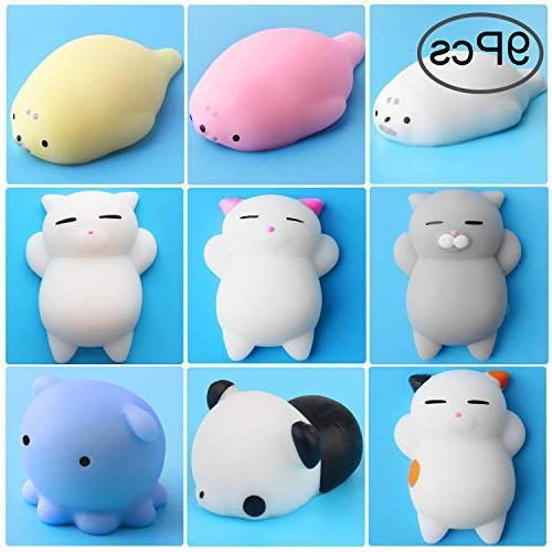 mochi squishy cat toys