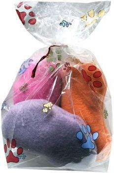 Cat n' Around Easter Jelly Bean Catnip Toys, Set of 3