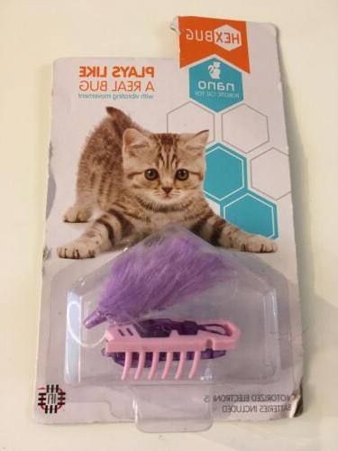 HEXBUG Nano Robotic Cat Toy - Purple
