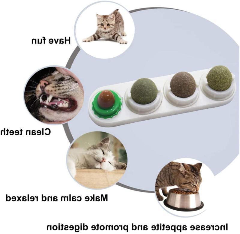 Natural Balls Treats Catnip Toy