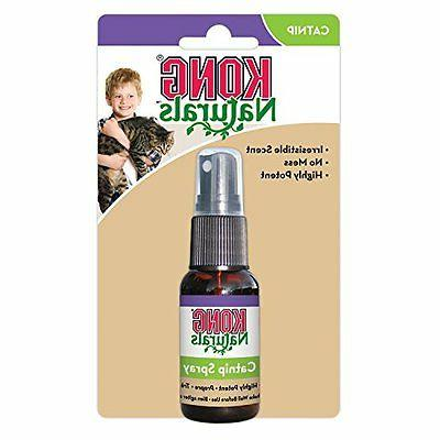 naturals catnip spray for cats on toys