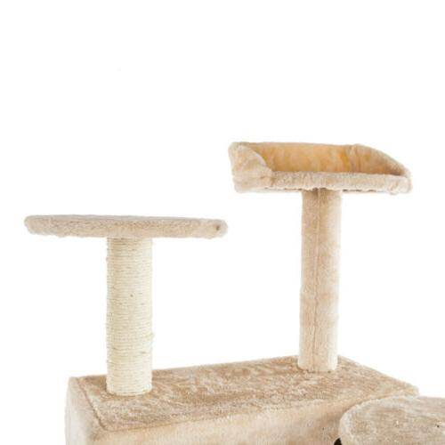 Cat Scratcher Play House Furniture Bed Toys