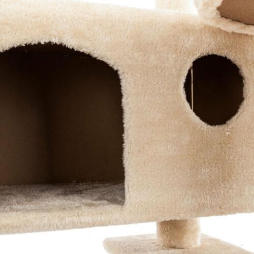 Cat Climb Tree Play Bed Post Pet Toys