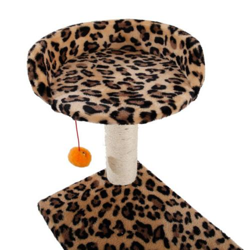 New Cat Tree Condo Furniture Post Pet Play House