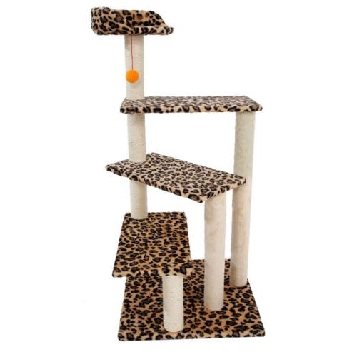 new cat tree tower condo furniture scratching