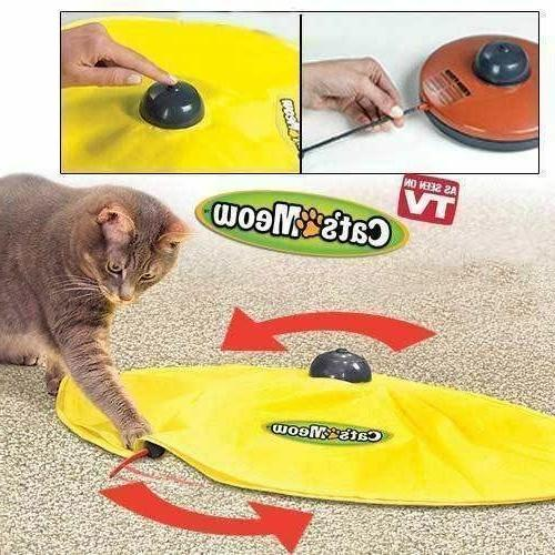 Electronic Pet Cat Toy Undercover Meow Moving Mouse Kitten I