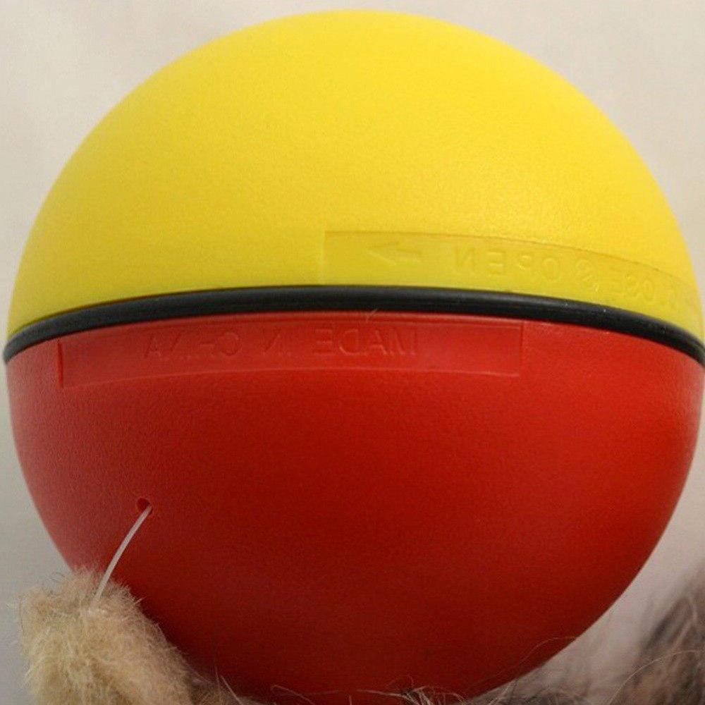 Moving Electric Rolling Ball Pet <font><b>Cat</b></font> Jump <font><b>Toy</b></font>