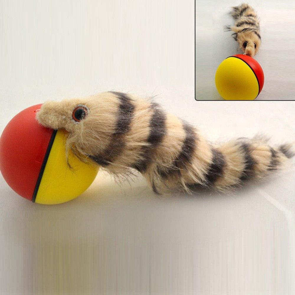 NEW Pet Moving Rolling Ball Self Rolling <font><b>Toy</b></font>