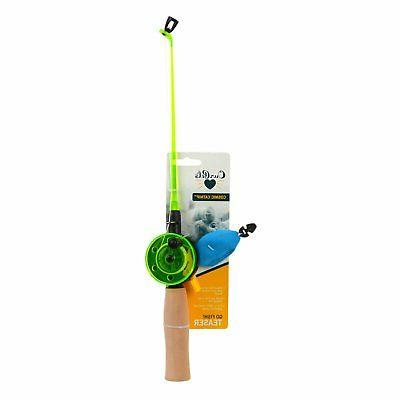 OurPets Go Fish Teaser Catnip Fishing Rod Interactive Wand C