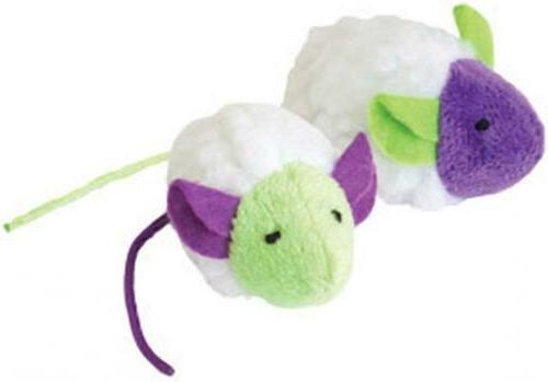 OurPets Natural Toy Bulk Mouse Sheeps