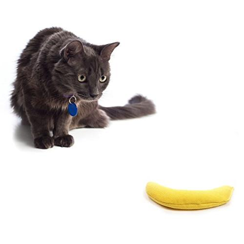 OurPets Catnip Banana Toy