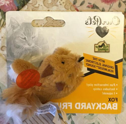Our Play-N-Squeak Collection Squeaking Catnip Cat