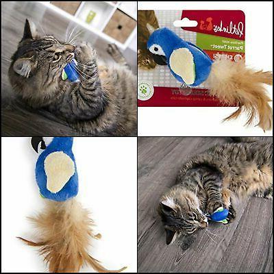 parrot tweet cat toy