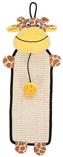 Pet Life Paw-Pleasant' Hanging Sisal & Jute Carpet Kitty Cat