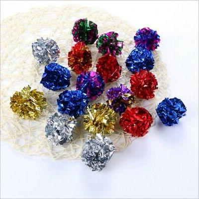Pet Crinkle Foil Dog Interactive Toy 12pcs/set