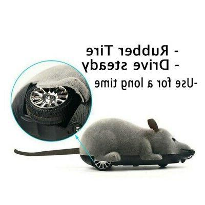 Pet Cat Remote Control Toy Fake Wireless RC