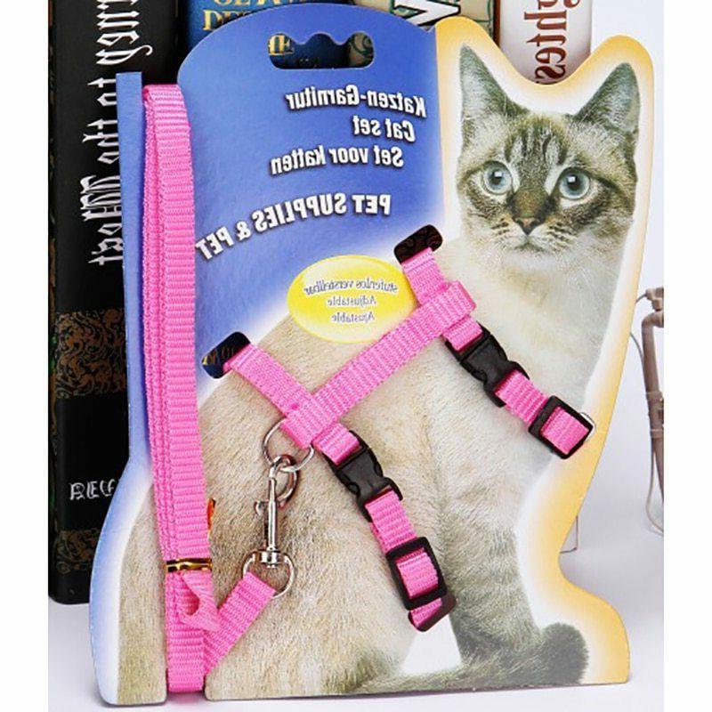 Pet Collar Leash Adjustable Belt