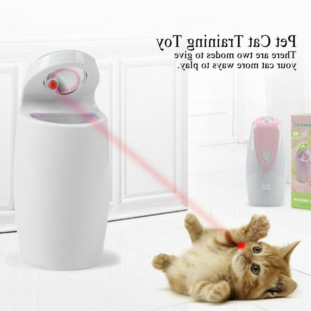 Pet Dog Cat Food Toy Interactive w/USB Automatic Infrared Pi
