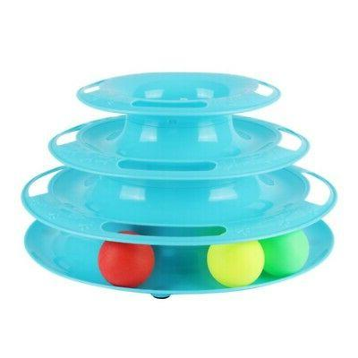 US Cat Toy Crazy Interactive Amusement Plate Toy