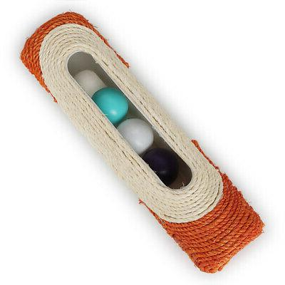 Pet Rolling Sisal Scratching 3 Trapped Ball Toys