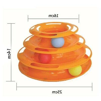US Cat Toy Crazy Disk Interactive Amusement Plate Toy