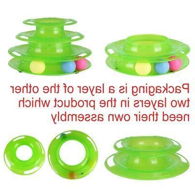Funny Ball Disk Interactive Toys Amusement Trilaminar US